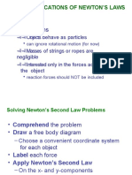 Notes05_Applications of Newtion's Laws