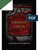 Crimson Creek Rulebook