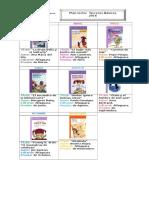 Plan Lector en Imágenes 2016 (Terceros Básicos)