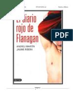 Libro El Diario Rojo de Flanagan - Andreu Martín