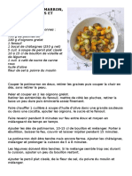 Recette_Cocotte de Potimarron, Fenouil, Oignons Et Châtaignes