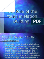 The Role of the Youth in Nation Building