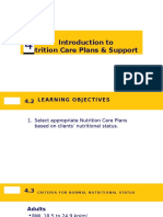 Introduction to Nutrition Care Plans_New Guidelines