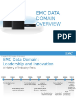Data Domain Products - Overview (Customer Presentation)