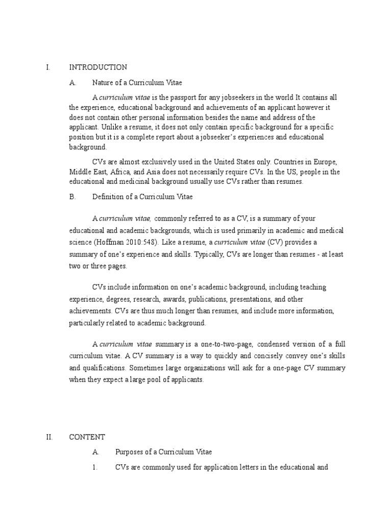Curriculum-Vitae (1).docx | Résumé | Curriculum