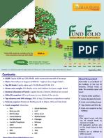 FUND FOLIO - Indian Mutual Fund Tracker - September 2016