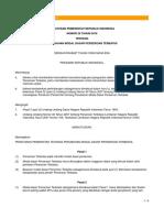 PP NO. 29 Tahun 2016 Tentang Perubahan Modal Dasar