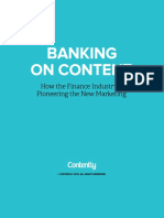 Banking on Content (Contently)