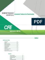 Manual de Identidad Gráfica Cfe