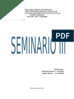 Seminario III desarrollo personal