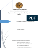 Poverty and Development