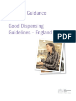 Good Dispensing Guidelines