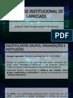 3. A análise institucional - Georges Lapassade.pdf