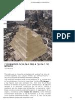 7 Pirámides Ocultas en La Ciudad de México