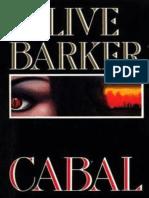 Cabal Razas de Noche - Clive Barker