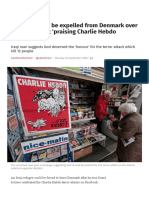 Refugee Could Be Expelled From Denmark Over Facebook Post 'Praising Charlie Hebdo Attacks' _ the Independent
