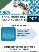 TRASTORNO DEL ESPECTO AUTISTA(TEA) PPT.pptx
