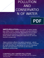 Pollution and conservation of water.pptx