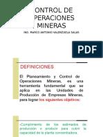 2dacontrol de Operaciones Mineras