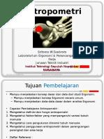 Anthropometri dan Grip Strength