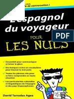 L'Espagnol Du Voyageur Pour Les Nuls - Terradas,David