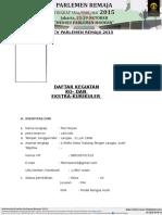 Format CV Parlemen Remaja Kosong Copy