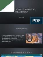Unidad 3 Expediciones Científicas en América - César López