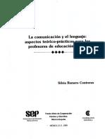 Romero, s..La Comunicación y Lenguaje Capitulo. 3