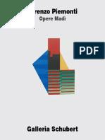 Lorenzo Piemonti Opere Madì