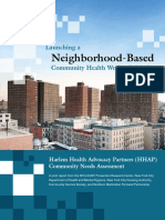 Launching a Neighborhood-Based Community Health Worker Initiative