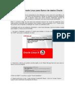 Instalação Do Oracle Linux Para Banco de Dados Oracle