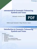 Introductiong TolerAncing Symbols Terms