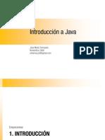 Introduccion Lenguaje Java