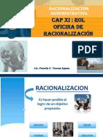 Cap Xi - Rol Oficina de Racionalizacion
