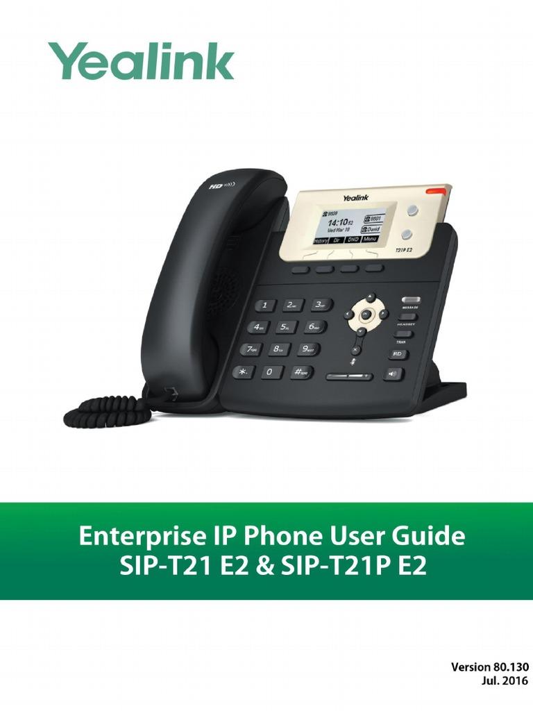 Yealink SIP-T21 E2 & T21P E2 User Guide V80 130   Ip Address   I Pv6