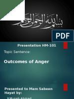 Anger documentation