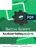 Batch Script Tutorial
