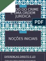 sociologia criminalidade