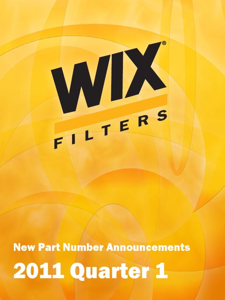 Catalogo de Filtros WIX