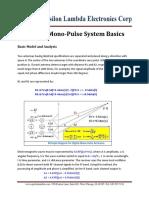 FMCW Mono-pulse System Basic