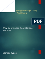 Thermal Energy Storage Systems