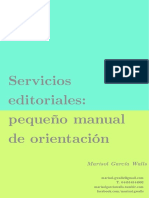 Manual de Servicios Editoriales MGW