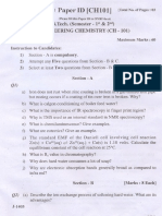 Engineering Chemistry First Year