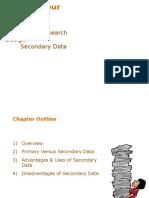 Exploratory Research Design-Secondary Data