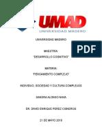 UNIVERSIDAD MADERO Individuo, Sociedad y Cultura