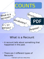 Recount Powerpoint Grade 4