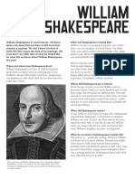 Pdf shakespeare biography