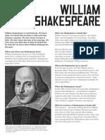 Pdf shakespeare biography