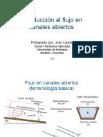 Canales Abiertos Introduccion