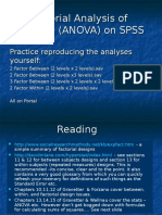 Psy245 Lecture 2 Anova on SPSS